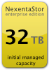 NEXENTA-Base: Manage up to 32TB of storage; includes 1YR of Gold support