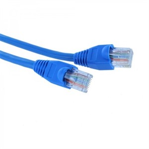 3m CAT 6 UTP PVC INJ Moulded Patch Cable - Blue