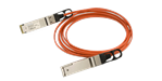 Finisar Quadwire 40Gb cable 4x10Gbps, QSFP male connectors, multimode, 0°C to 70°C, full duplex