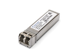 Finisar 10 GbE SR multimode SFP+ Transceiver 10GBASE-SR, 850nm VCSEL, 0°C to 85°C,