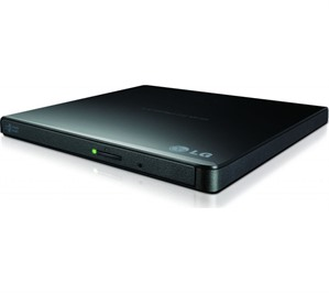 Ultra Portable Slim DVD/CD Burner LG GP57EB USB PC/Mac