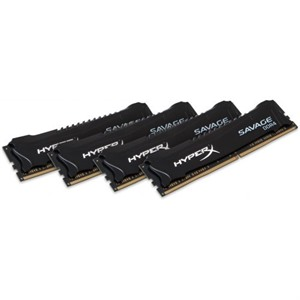 HyperX Savage 32GB Kit (4x8GB) DDR4 3000MHz Intel XMP CL15 DIMM Memory