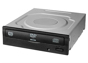 LiteOn iHAS124 24X Internal DVD Writer with SATA - OEM