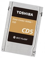 "Toshiba CD5 960GB NVMe PCIe3.1x4 BiCS3 eTLC 2.5"" 15mm 0.5DWPD"
