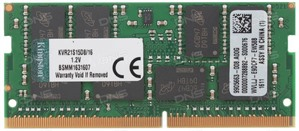 Kingston 16GB DDR4-2133 SO-DIMM 2Rx8 non-ECC unbuffered memory