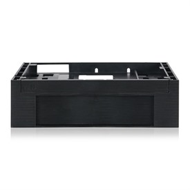 "Icydock FLEX-FIT Duo MB343SPO 5.25"" Ext. Bay to 3.5"" HDD / Device Bay + Ultra Slim ODD Bay Mounting"