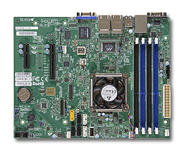 Supermicro Motherboard A1SAM-2750F (Retail)