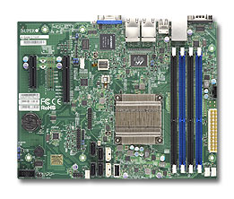 Supermicro Motherboard A1SRM-2758F (Retail)