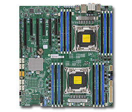 Supermicro Motherboard X10DAI (Retail)