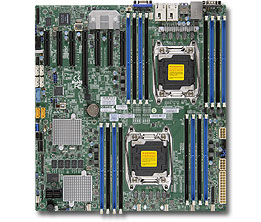 Supermicro Motherboard X10DRH-C (Retail)