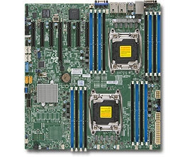 Supermicro Motherboard X10DRH-IT (Bulk)