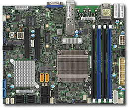 Supermicro Motherboard X10SDV-7TP4F (Retail)