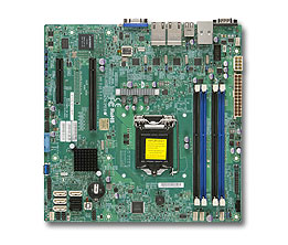 Supermicro Motherboard X10SLM+-LN4F (Retail)