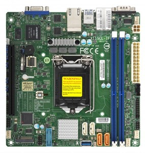 Supermicro Motherboard X11SCL-IF (Retail)