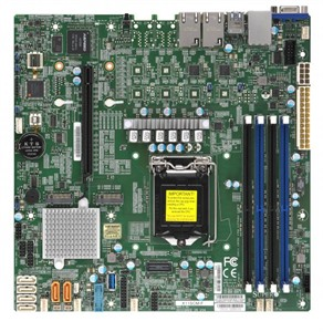 Supermicro Motherboard X11SCM-F (Retail)