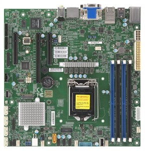 Supermicro Motherboard X11SCZ-F (Retail)