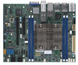 Supermicro X11SDV-4C-TP8F Motherboard