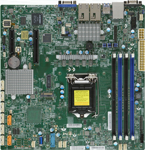 Supermicro Motherboard X11SSH-F (Retail)