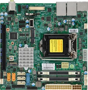 Supermicro Motherboard X11SSV-LVDS (Retail)