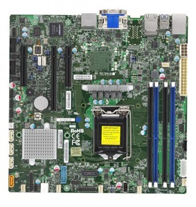 Supermicro Motherboard X11SSZ-QF (Retail)