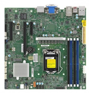 Supermicro Motherboard X12SCZ-F-O (retail)