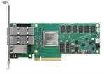 Bluefield®-2 SmartNIC 25GbE Dual-Port SFP56, PCIe Gen3/4 x8, Crypto, 8GB on-board DDR, 1GbE OOB mana