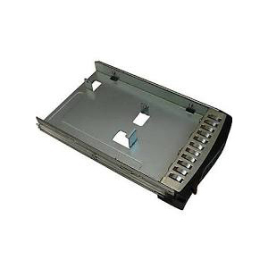 "Supermicro Black hot-swap 3.5"" to 2.5"" HDD tray for SBB, includes interposer bracket"