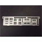 Supermicro I/O shield for X11SSZ with EMI Gasket