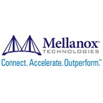 Mellanox® passive copper hybrid cable, ETH 100GbE to 4x25GbE, QSFP28 to 4xSFP28, 1.5m, Colored, 30AW