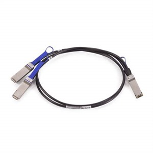 Mellanox® passive copper hybrid cable, ETH 100Gb/s to 2x50Gb/s, QSFP28 to 2xQSFP28, 1m
