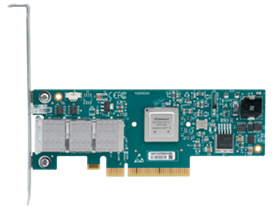 Mellanox® MCX313A-BCBT ConnectX®-3 40 Gigabit Ethernet Adapter Card, single-port QSFP, PCIe3.0 x8 8G