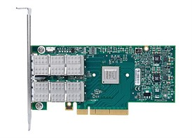 Mellanox ConnectX®-3 Pro EN network interface card, 40/56GbE, dual-port QSFP, PCIe3.0 x8 8GT/s, tall