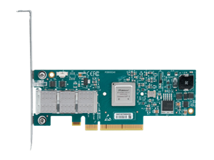 Mellanox ConnectX-3 VPI Adapter Card, Single-Port QSFP, FDR IB (56Gb/s) and 40GigE, PCIe3.0 x8 8GT/s