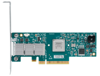 Mellanox® MCX353A-QCBT ConnectX®-3 Single Port QDR and 10GbE