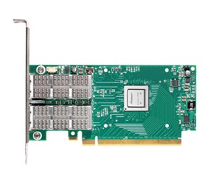 Mellanox ConnectX-4 VPI adapter card, FDR IB (56Gb/s) and 40/56GbE, dual-port QSFP28, PCIe3.0 x8, ta