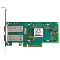 ConnectX®-5 EN network interface card, 10/25GbE dual-port SFP28, PCIe3.0 x8, UEFI Enabled (x86/ARM),