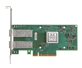 Mellanox ConnectX®-5 Ex EN network interface card, 25GbE dual-port SFP28