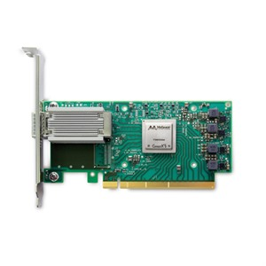 Mellanox ConnectX®-5 EN NIC MCX515A-GCAT, 50GbE single-port QSFP28