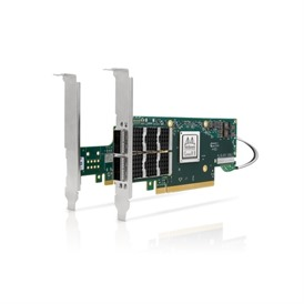 Mellanox ConnectX®-6 VPI adapter card, 100Gb/s (HDR100, EDR IB and 100GbE), dual-port QSFP56