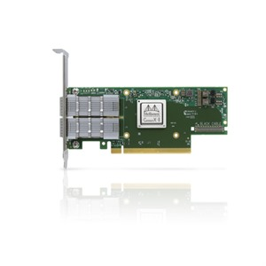 Mellanox ConnectX®-6 VPI adapter card, HDR IB (200Gb/s) and 200GbE, dual-port QSFP56