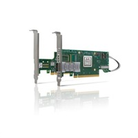 Mellanox ConnectX®-6 VPI adapter card kit, HDR IB (200Gb/s) and 200GbE, dual-port QSFP56