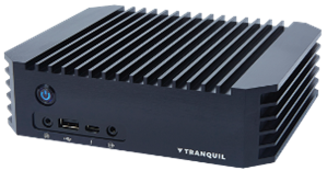 Tranquil Mini Rugged - AMD Ryzen V1202B Embedded Quad Display - IP51
