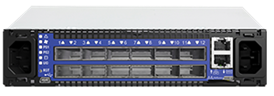 Mellanox SwitchX®-2 based FDR InfiniBand 1U Switch, 12 QSFP+ ports, 1 Power Supply (AC), unmanaged,