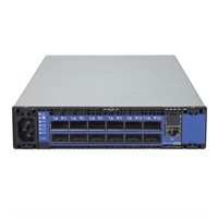SwitchX®-2 based FDR-10 InfiniBand 1U Switch, 12 QSFP+ ports, 1 Power Supply (AC), unmanaged, short