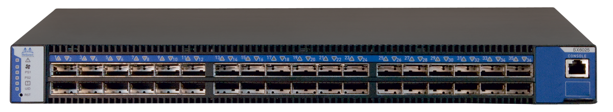 Mellanox MSX6025F-1SFR SwitchX FDR 36-Port InfiniBand Switch