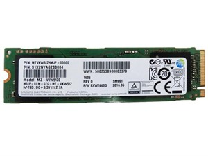 Samsung 512GB SM961 M.2 PCIe NVMe Workstation OEM SSD/Solid State Drive