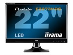 "Iiyama Prolite 22"" Full HD Monitor with HDMI/DVI/VGA Speakers 2ms"