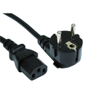 Euro Plug to C13 Mains Lead