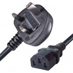UK Plug to C13 Mains Lead