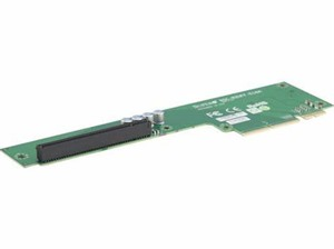 Supermicro 2U FatTwin Left-Side Passive Riser Card - 1x PCI-E x16 Signal and 1x PCI-E x16 Output